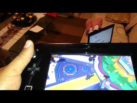 Wii U GamePad Distance Test