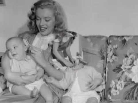 Marilyn Monroe - Photos (N.Jean With Kids) - YouTube