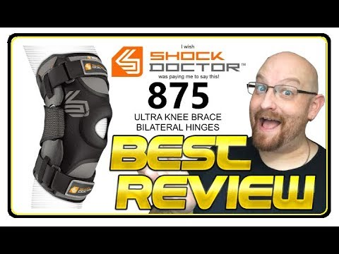 Best Product Review Shock Doctor 875 Ultra Knee Brace Bilateral Hinges