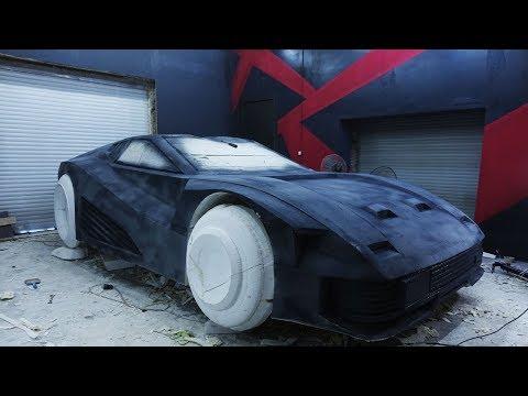 Quadra V-Tech из Cyberpunk 2077. Подготовка макета для снятия матрицы