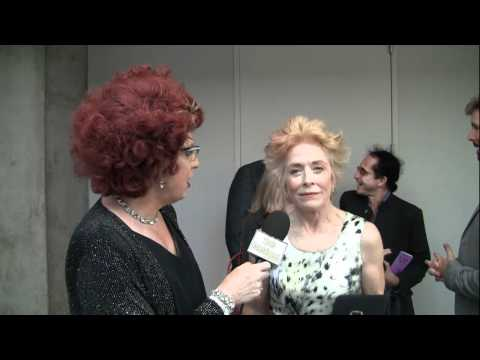 Two and Half men's HOLLAND TAYLOR with Ester Goldberg on red carpet