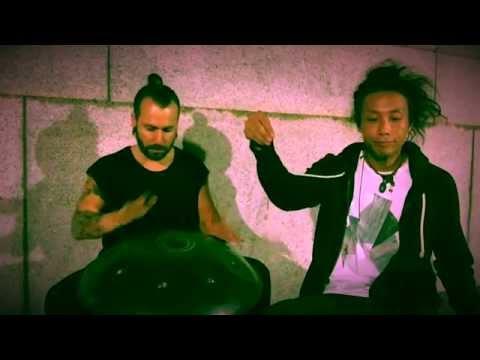 Street Jam (Handpan & Beatbox) Adrian J Portia & Reo Matsumoto