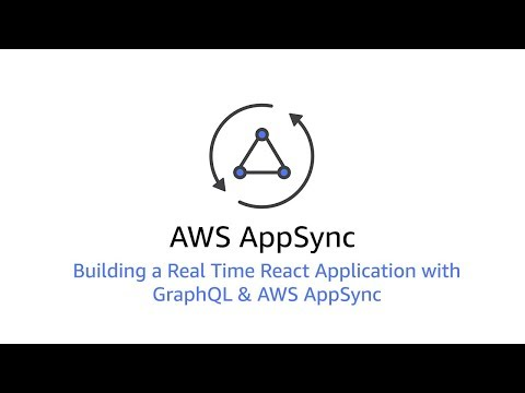 Building a Real Time React Application with GraphQL & AWS AppSync
