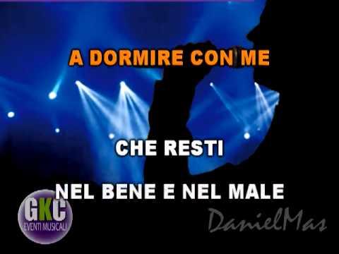 Umberto Tozzi Marea  karaoke instrumental
