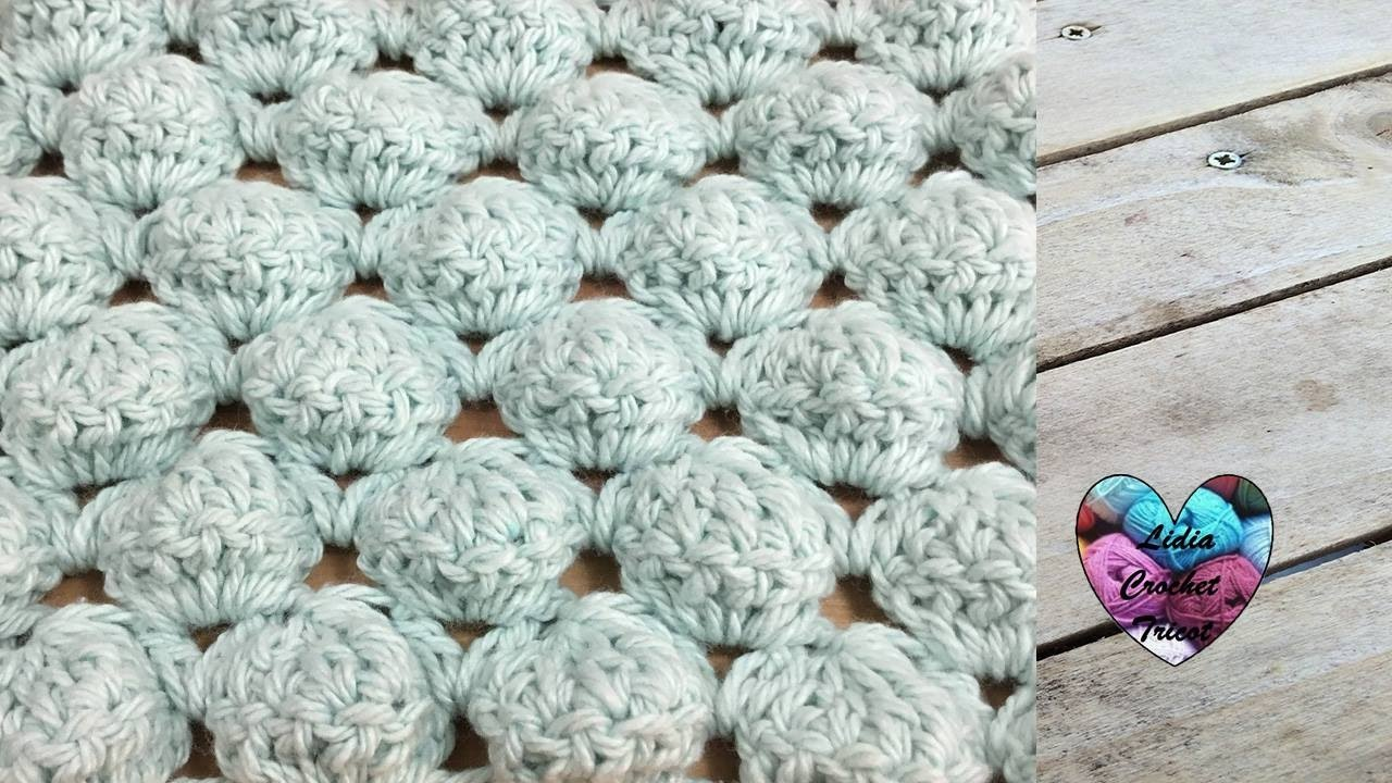 point boules au crochet facile ball stitch crochet english subtitles youtube. Black Bedroom Furniture Sets. Home Design Ideas