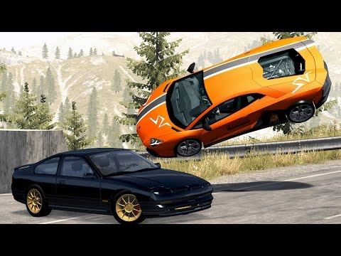 BeamNG Drive High Speed Crashes #54