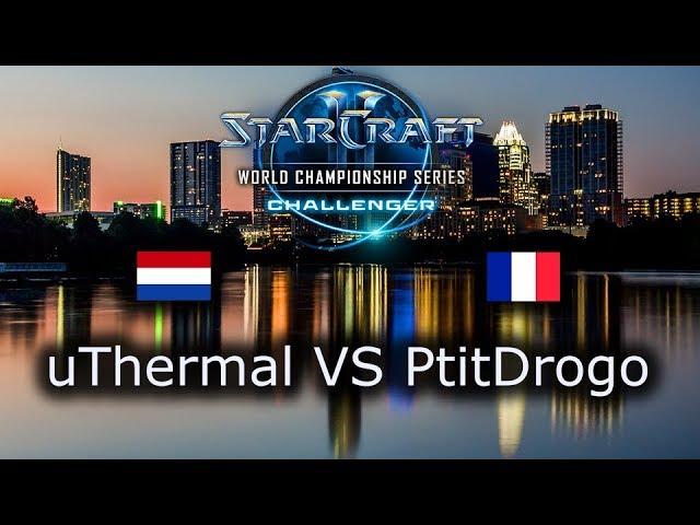 uThermal VS PtitDrogo - Ro4 - TvP - EU Qualifiers WCS Austin 2018 - polski komentarz