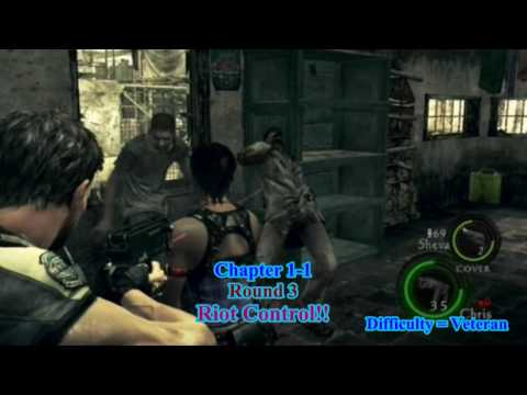 003 Infinite Items and Money Guide - Resident Evil 5 Walkthrough PS3  Veteran Difficulty