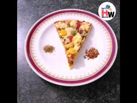 Shezwan chilli pizza by Hawi&39;s world