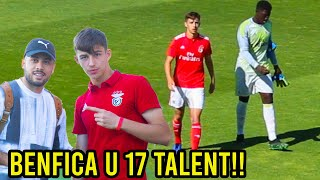 U 17 Benfica Talent Adrian Bajrami VS Sporting Lissabon!!