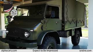 1969 Mercedes Unimog, Overview and Cold Start, AlphaCars