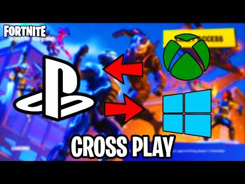 Fortnite CROSS-PLAY Between PS4 XBOX PC And SWITCH... WHY SONY WONT ALLOW CROSS-PLAY In FORTNITE!
