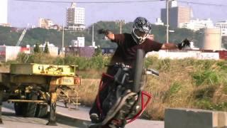 Spring(has come) - Ryukyu Xtreme Bike 020611 沖縄エクストリームバイクスタント HD
