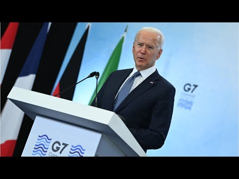 America's Laughing Stock Joe Biden Bumbles his way through the G7 Summit in England