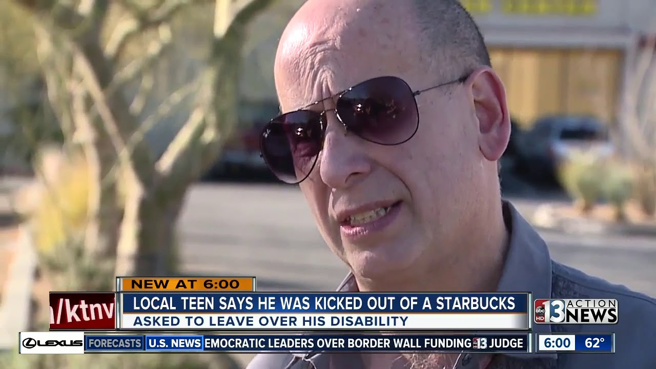 Family: Teen kicked out of Starbucks in Henderson because of disability
