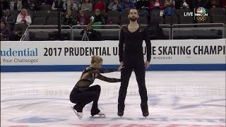 2017 US Nationals - Cain / LeDuc SP NBCSN HD