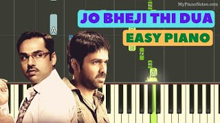 Jo Bheji Thi Dua (Shanghai) - Piano Tutorial with Chords | Learn Bollywood Songs on Piano with Us