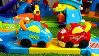 Smart Wheels City: Highways Hijinks - VTech Go! Go! Smart Wheels Race Car Action AND Diggers too.