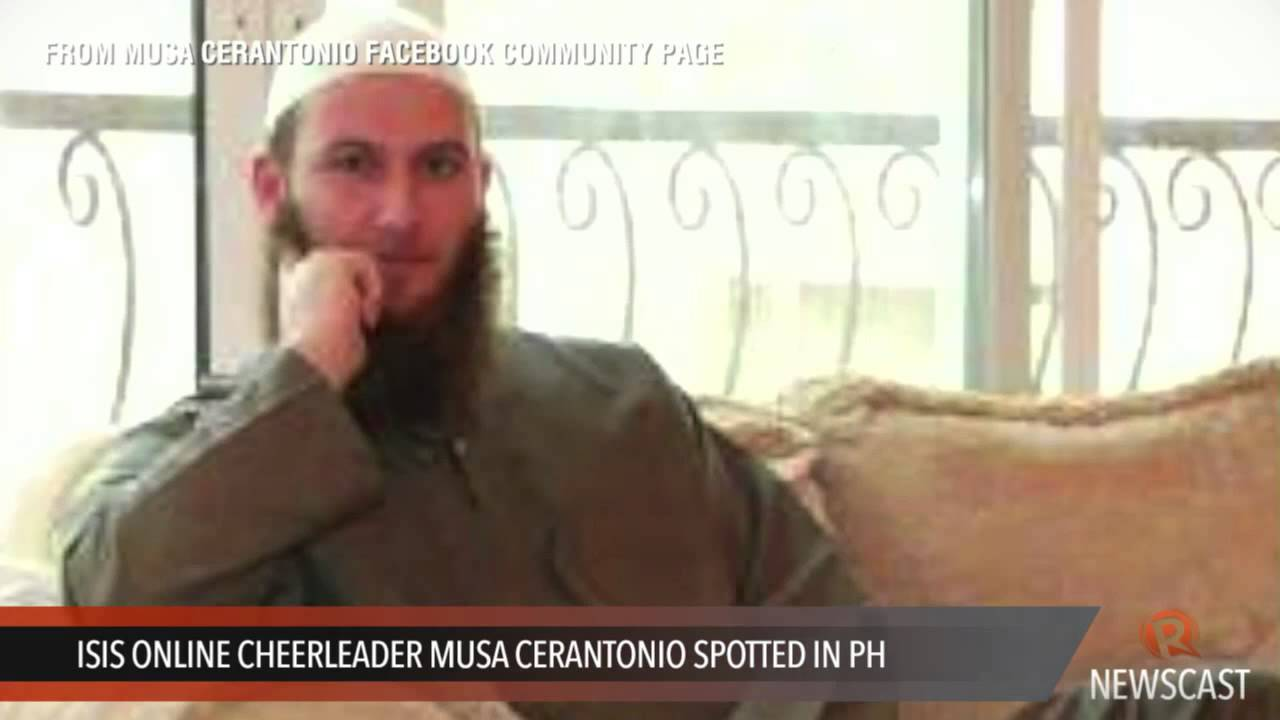 ISIS online cheerleader Musa Cerantonio spotted in PH
