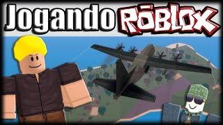 Jogando Roblox - Aventuras no CaribBros BATTLEGROUNDS!!