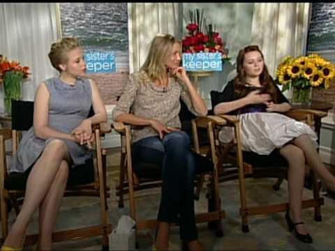 MY SISTER'S KEEPER Interviews -- Cameron Diaz, Abigail Breslin and Sofia Vassilieva