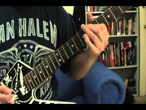 How to play Van Halen Unchained