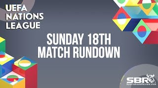 Nations League Betting and Match Predictions | Team Bankroll | Sunday 18th November Matches