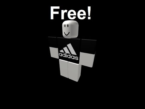 How To Get A Free Roblox Adidas Shirt Youtube