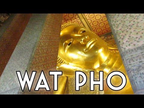 Wat Pho, Chao Praya River, and Flower Market // Bangkok, Thailand (w/ Brianna Degaston!)