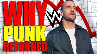 Real Reason Why CM Punk Returned To WWE! (Fans Call Him A 'SELLOUT'! )