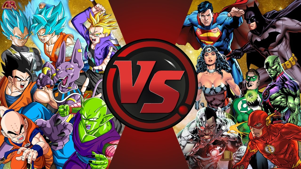 Download Z-FIGHTERS vs JUSTICE LEAGUE! TOTAL WAR! (Dragon Ball Z vs DC Comics) Cartoon Fight Club Episode 164