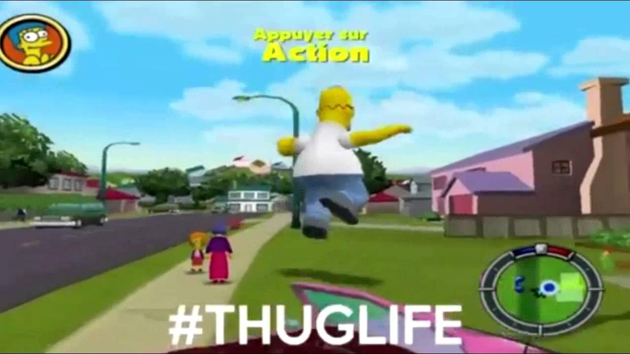 Download Les Simpson   Compilation Hit and Run   Toutes les Missions du jeu PC