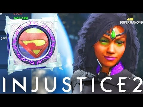 SO MUCH EPIC STARFIRE GEAR! - Injustice 2 Diamond/Platinum Mother Box Opening