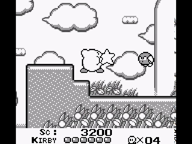 Jouez à Kirby's Dream Land sur Nintendo Gameboy grâce à nos bartops et consoles retrogaming