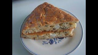 Пирог с яйцом и луком (2 ). Маринкины творинки