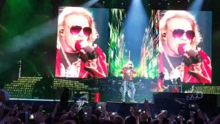 Guns n Roses Lisbon 2017 Welcome to the Jungle