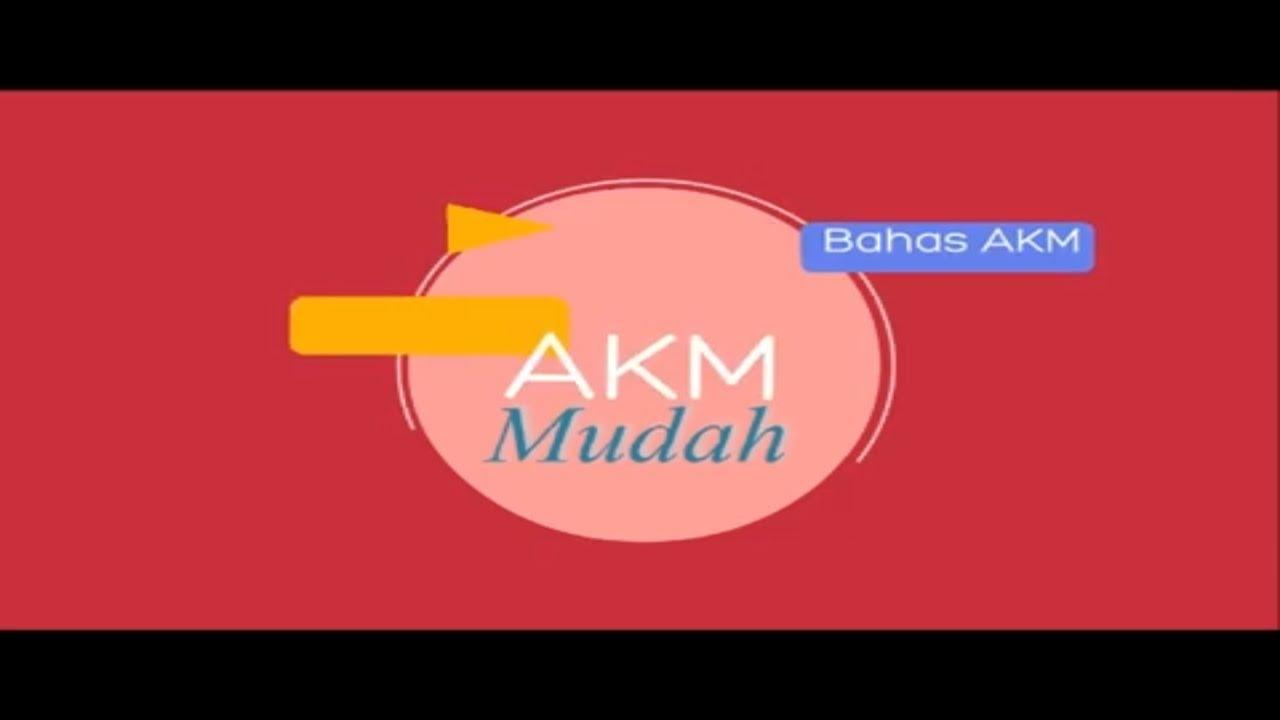 Contoh Soal Akm Dan Pembahasan Akm Smp Sma Youtube