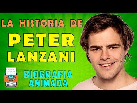 La Historia de Peter Lanzani 🎭📺  Biografia Animada 🏈🎤