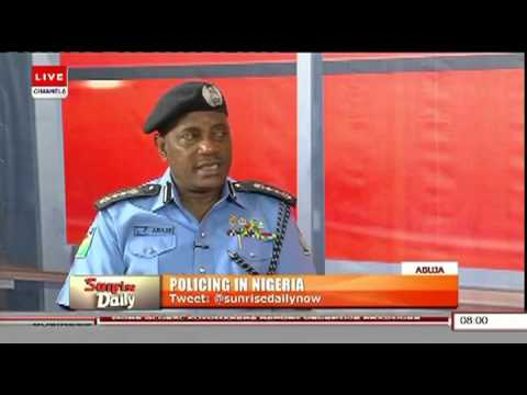 IGP Solomon Arase on Sunrise Daily 25.04.2016