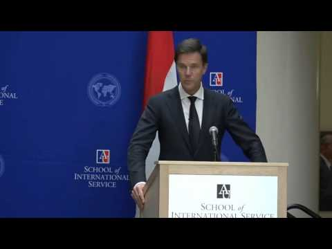 Town hall meeting Prime Minister Rutte @ American University