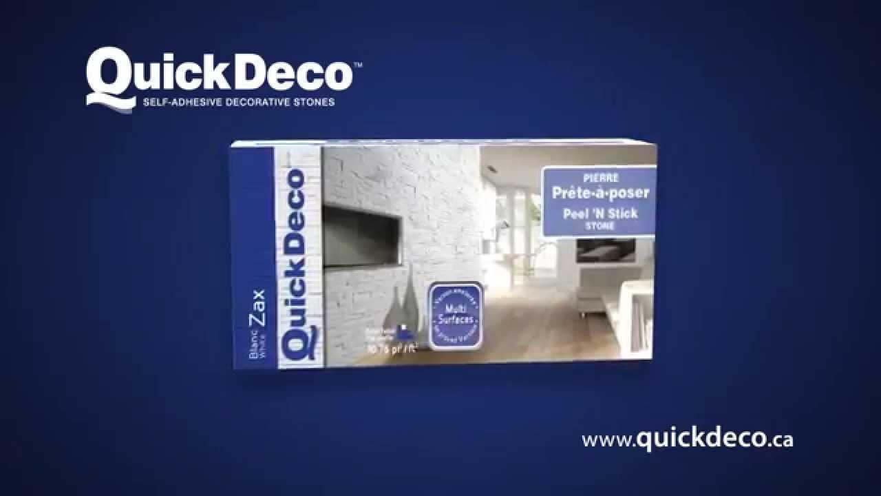 QuickDeco Self-Adhesive Decorative Stone - 15 seconds TV Ad 2014 ...