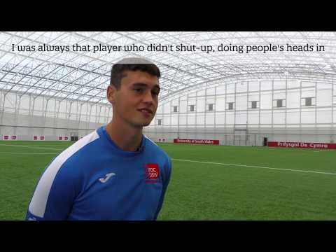 Meet Wales' youngest A Licence holder, USW student Ryan Moon