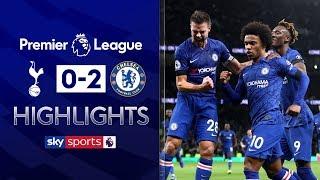 Willian scores brace as Son is sent off! | Tottenham 0-2 Chelsea | Premier League Highlights