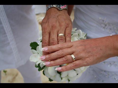 Our wedding in Paradise, Seychelles 2014 Edina & Laci