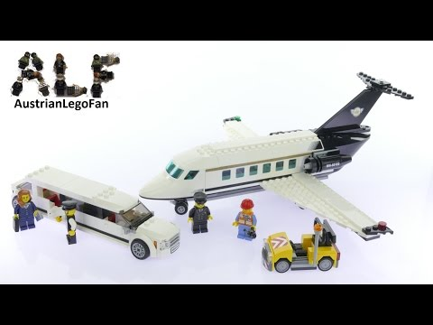 Lego City 60102 Airport VIP Service - Lego Speed Build Review