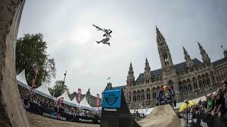 Going HUGE at freestyle MTB contest - Vienna Air King 2014