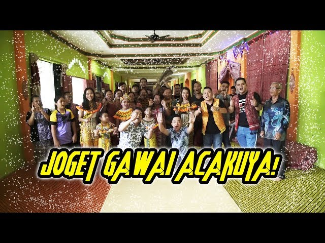 Joget Gawai Acakuya (Official Music Video) - Jaffery Sirai & Raymond Jalong