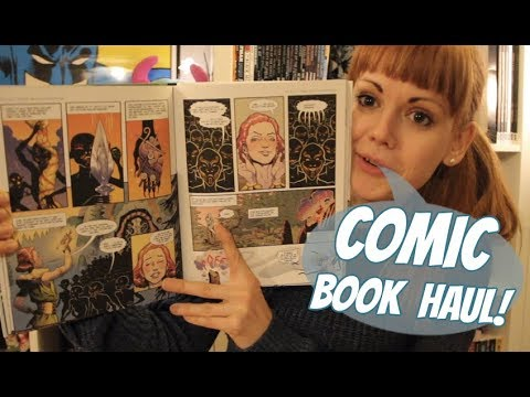 Comic & Graphic Novel Haul | November 2017