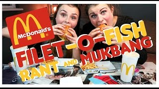 McDonald's Filet O Fish RANT and MUKBANG