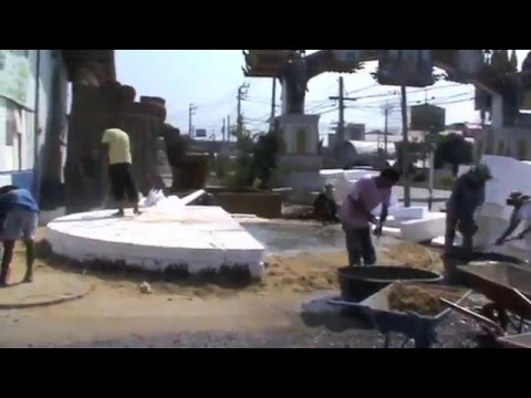 Cement Foam Dome House Youtube
